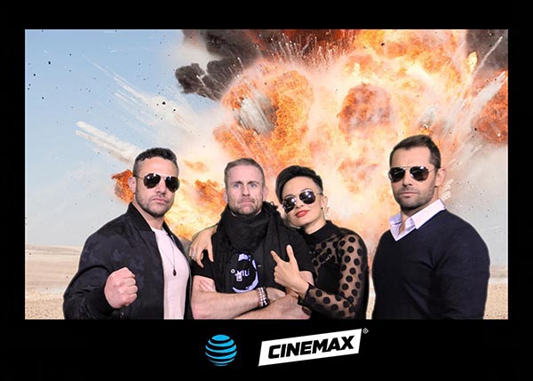 Orlando red carpet photography for Cinemax with the cast of Strikeback