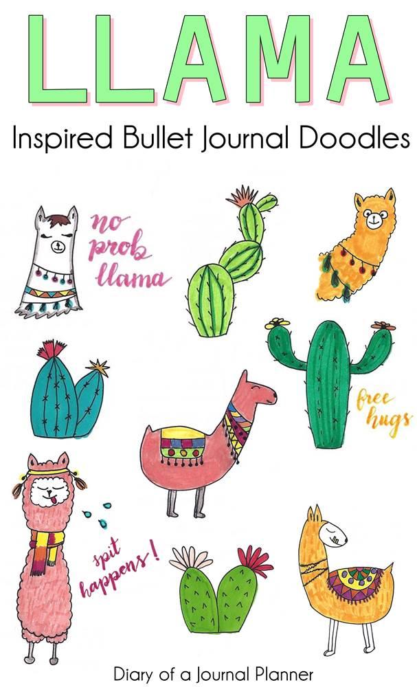 Learn how to draw a cute llama, step by step tutorial