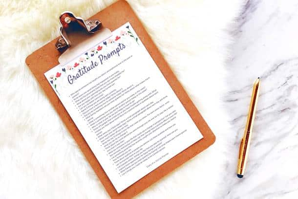 50 life changing daily gratitude bullet journal prompts to get you started with a gratitude journal (plus free printable pdf)