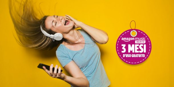 Amazon Music Unlimited per 90 giorni