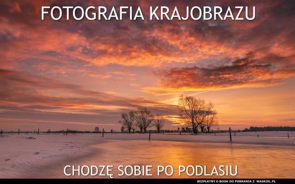 Obraz przedstawiający okładkę darmowego poradnika fotografii krajobrazowej.