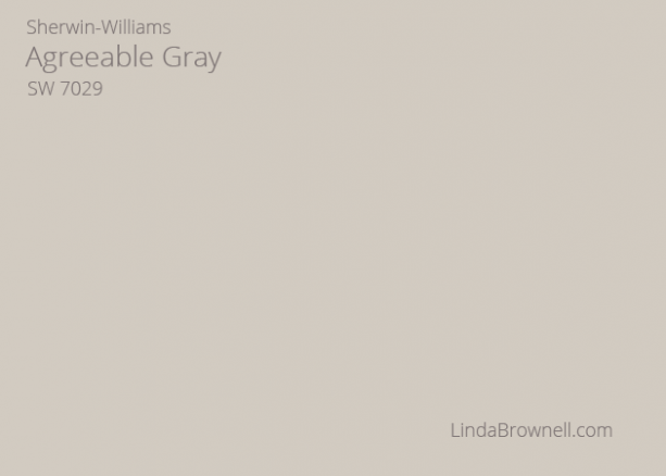 Sherwin-Williams Agreeable Gray SW 7029