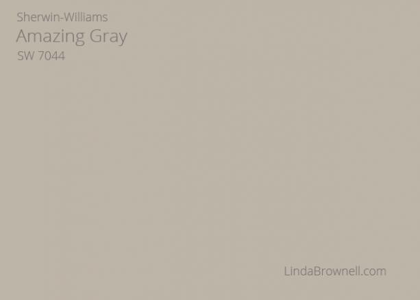 Sherwin-Williams Amazing Gray SW 7044
