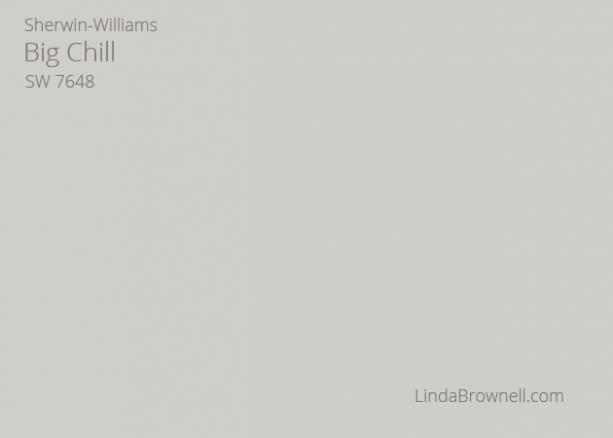 Sherwin-Williams Big Chill SW 7648