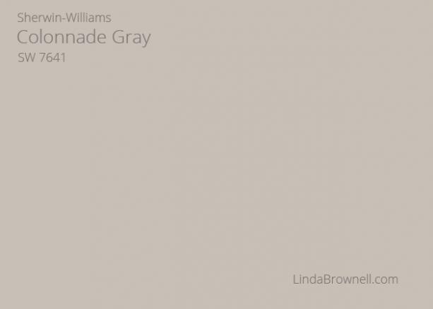 Sherwin-Williams Colonnade Gray SW 7641