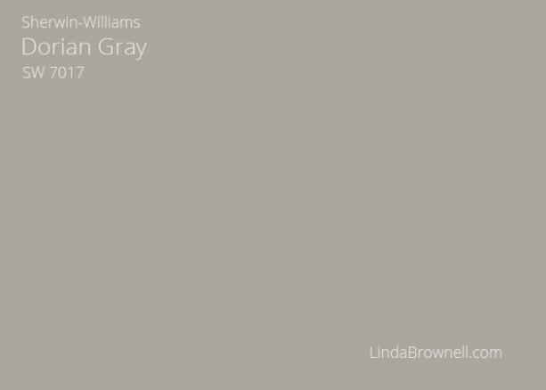 Sherwin-Williams Dorian Gray SW 7017