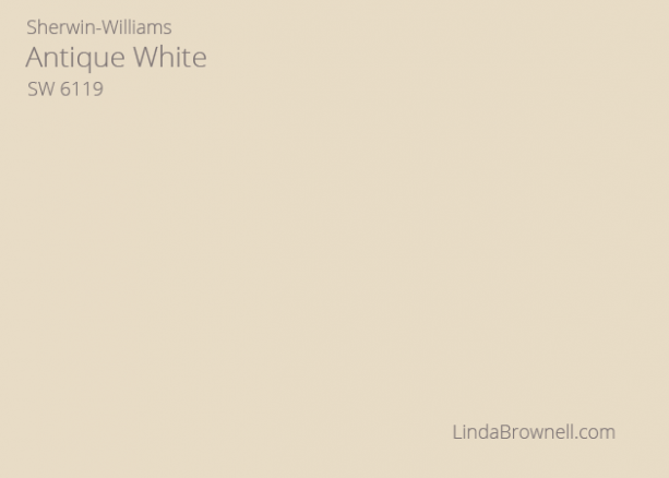 antique white paint sherwin williams