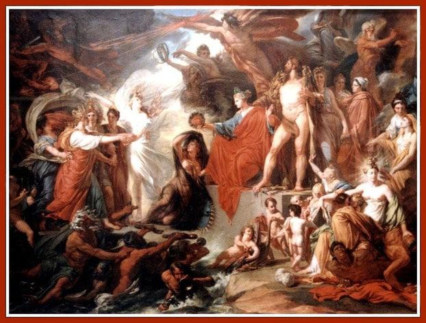 I miti greci e l'astrologia