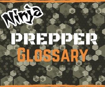 prepper gloassary