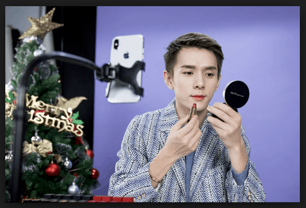Livestreaming Example: Lipstick Brother