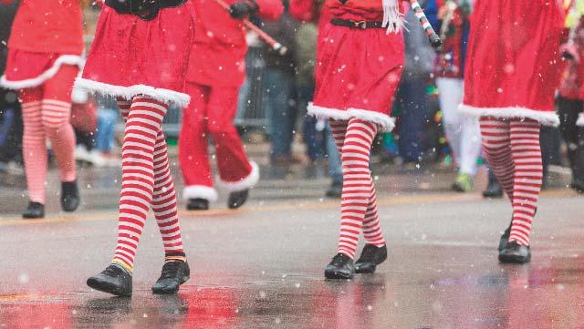 Poteau Christmas Parade