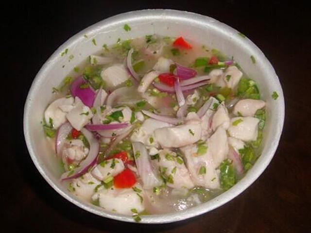 Ceviche de Tiburon