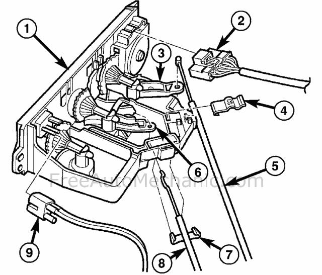 ac heater control panel 2005 pt cruiser  freeautomechanic