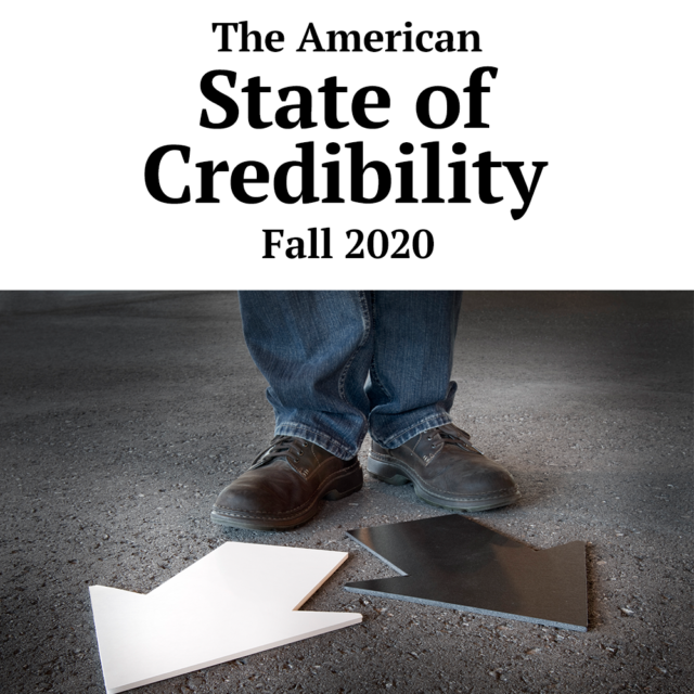 American State of Credibility Survey by Credibility Nation, SalesFuel and Behavioral Resource Group