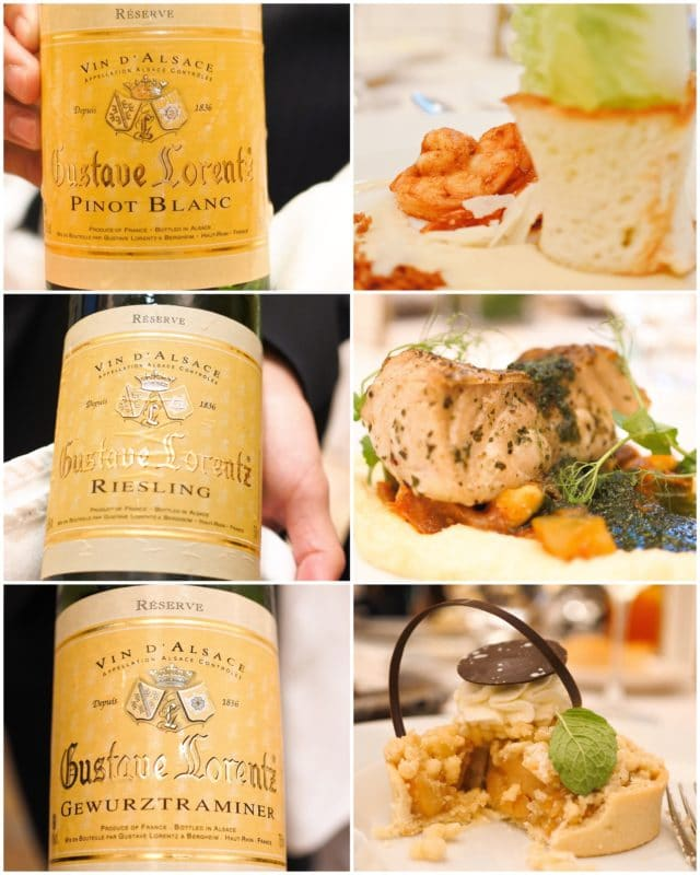 Heart of Alsace wine pairing