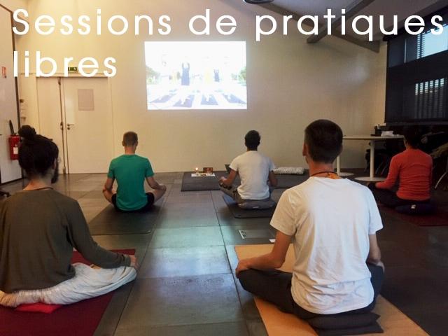cours yoga libre