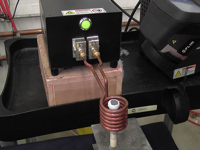 Induction Heating Coil for Induction Heating Machine. Ultraflex Power Technologies.