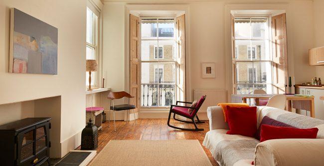 Living room interior sash window repair in brighton, brighton window repair