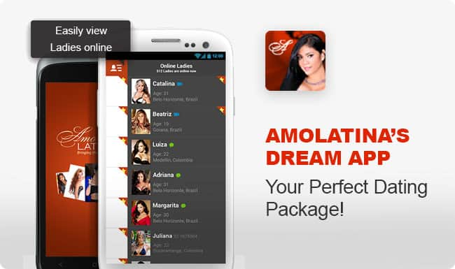 AmoLatina Mobile Dating App