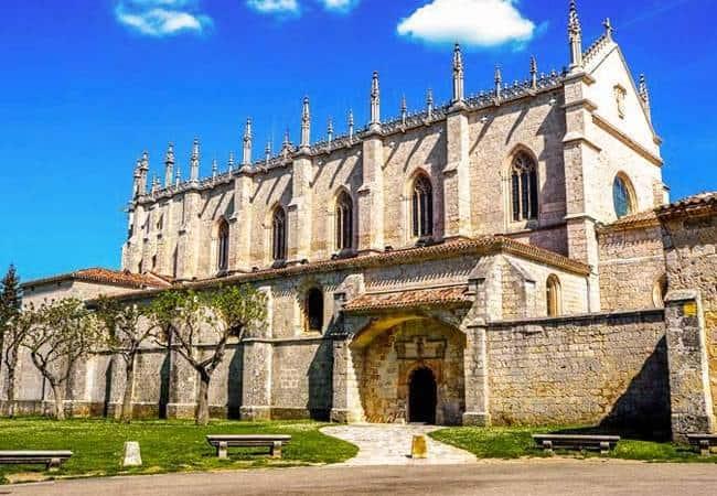 Cartuja de Miraflores en Burgos
