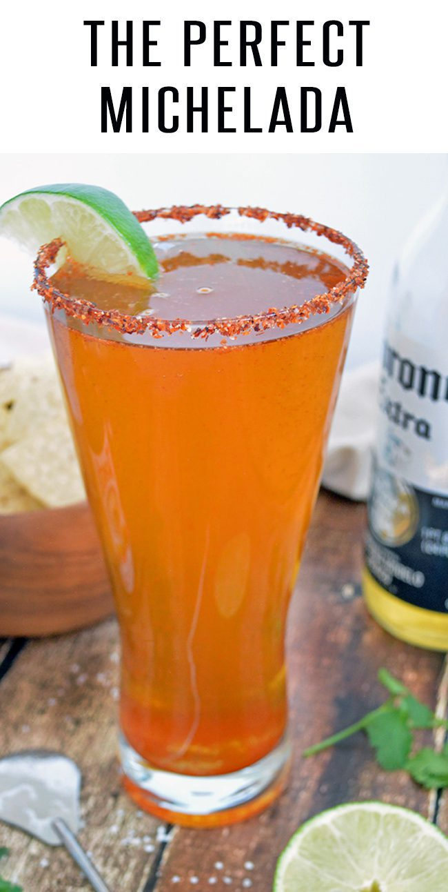 This Perfect Michelada Recipe loaded with Mexican Cerveza, Lime and Spices! Perfect Cinco de Mayo Drink choice! Pairs well with our Carne Asada Recipe #cincodemayo #cincodemayodrinks #beerrecipes #drinkrecipes #mexicanfood