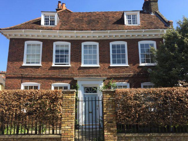 Sash window, sash windows renovation in Sussex and London