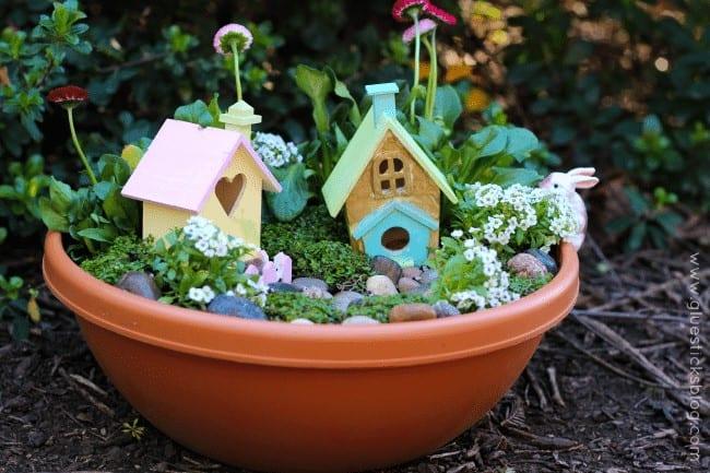 Pixie Hallow Fairy Garden