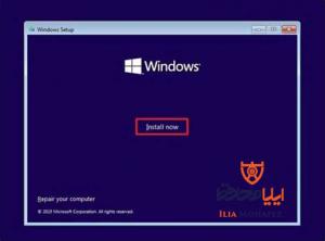 نصب ویندوز- آموزش نصب ویندوز 10