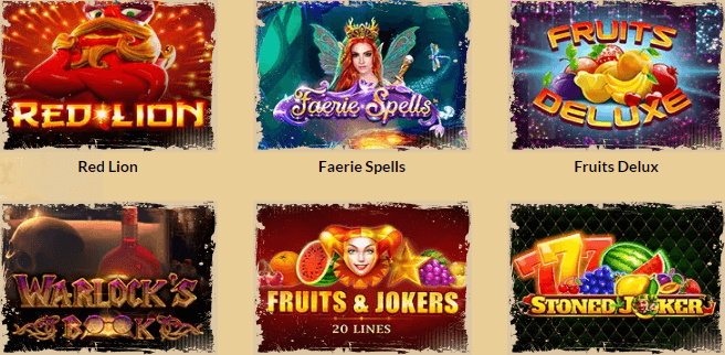 Orientxpress casino Games