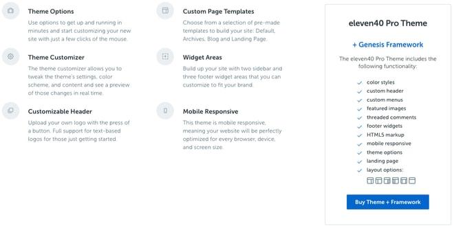 simple wordpress blog themes