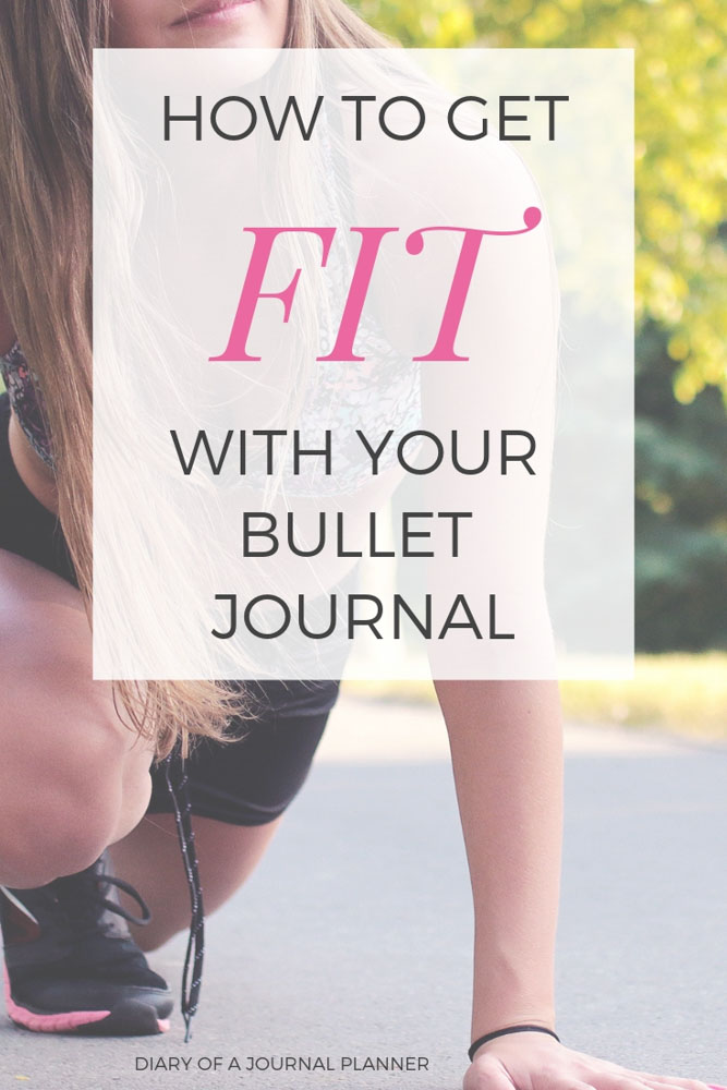 Use your Bullet Journal to get fit! Get accountable for your workouts, and diet with these great Fitness Tracker ideas for Bujo. #getfit #bulletjournal #bujo #fitnesstracker #bulletjournaltracker #bulletjournalfitnesstracker