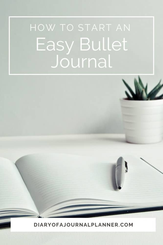 Easy Bujo Ideas