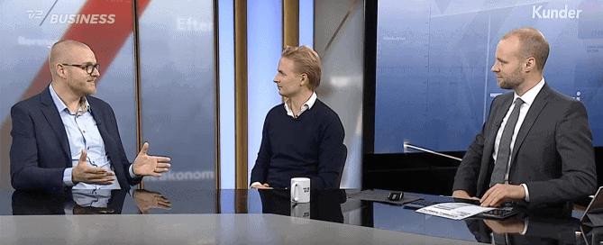 Benjamin Egeskjold fra Fragtopgaver.dk i TV2