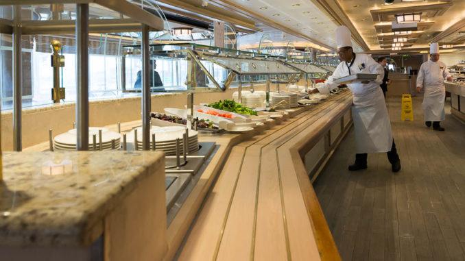 Auswahl im Buffetrestaurant