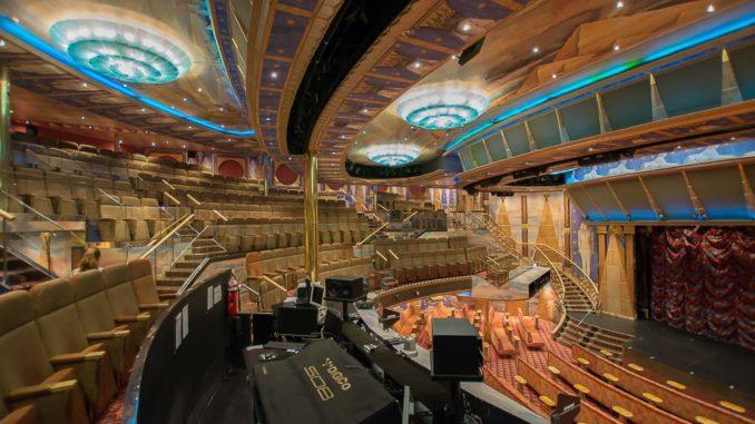 Das Teatro Osiris erinnert an die alten Ägypter