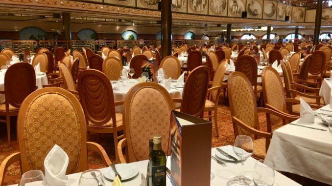 Das Hauptrestaurant Ristorante degli Argentieri