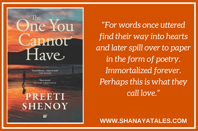 the one you cannot have book review