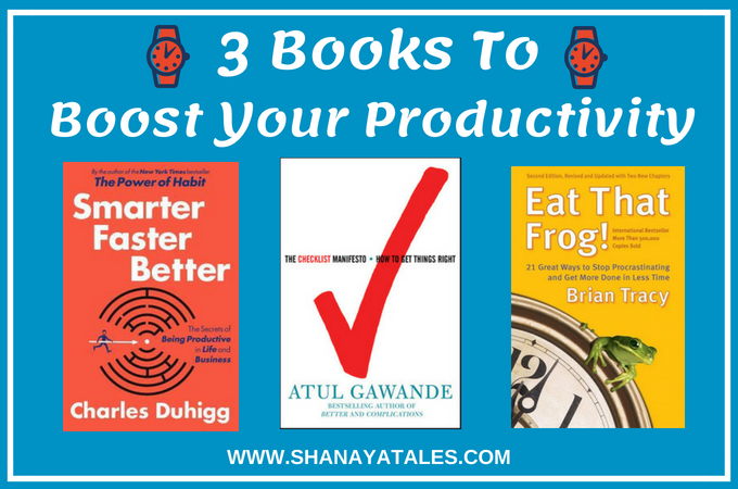 3 productivity books