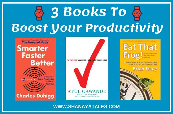 3 productivity books