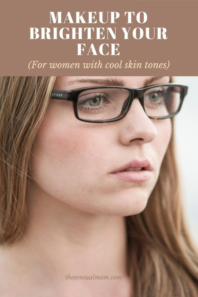 makeup to brighten your face for women with cool skin tones
