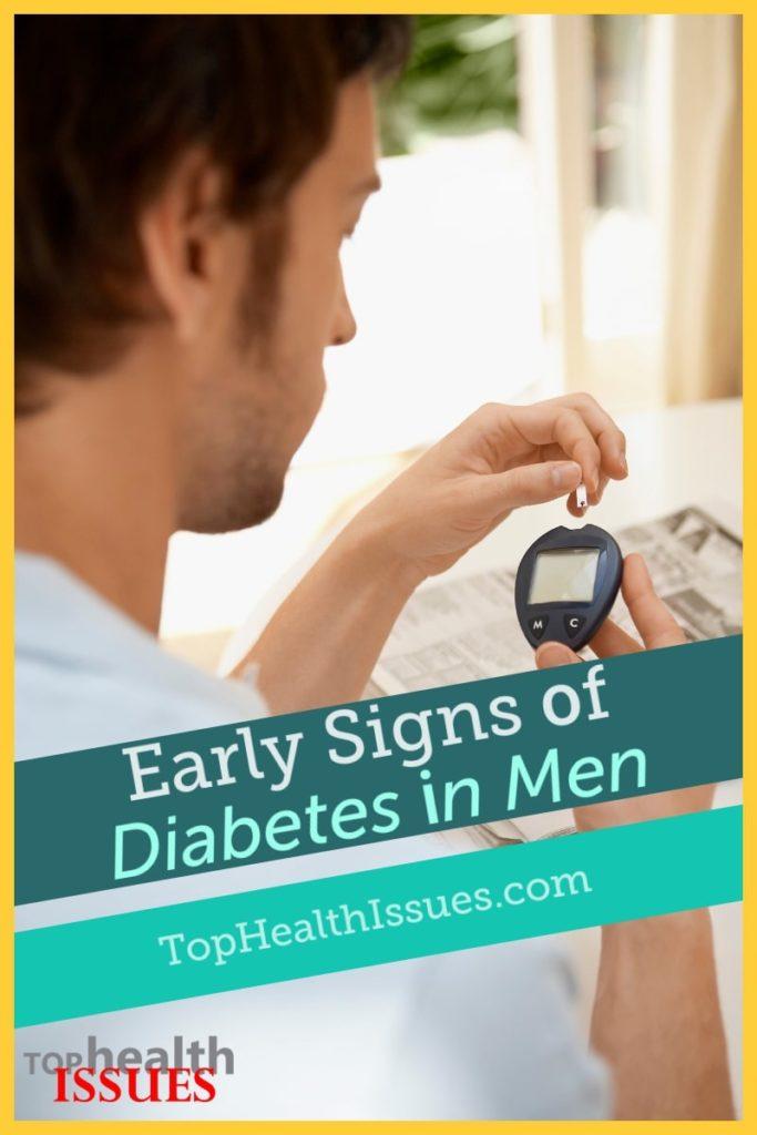 Early Signs Of Diabetes In Men