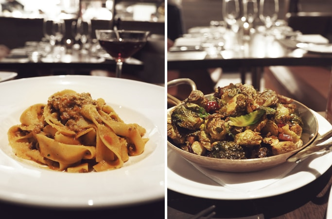 Bolognese & Brussels Sprouts at Dolce Italian, Chicago