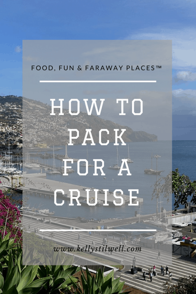 Looking for a cruise packing list? Feel free to print as many as you need!