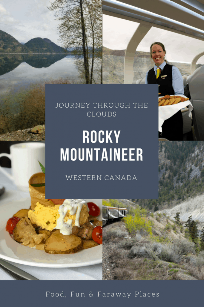 Last month I took the Rocky Mountaineer Train Journey Through the Clouds, one of the many routes you can take on this luxury train vacation.