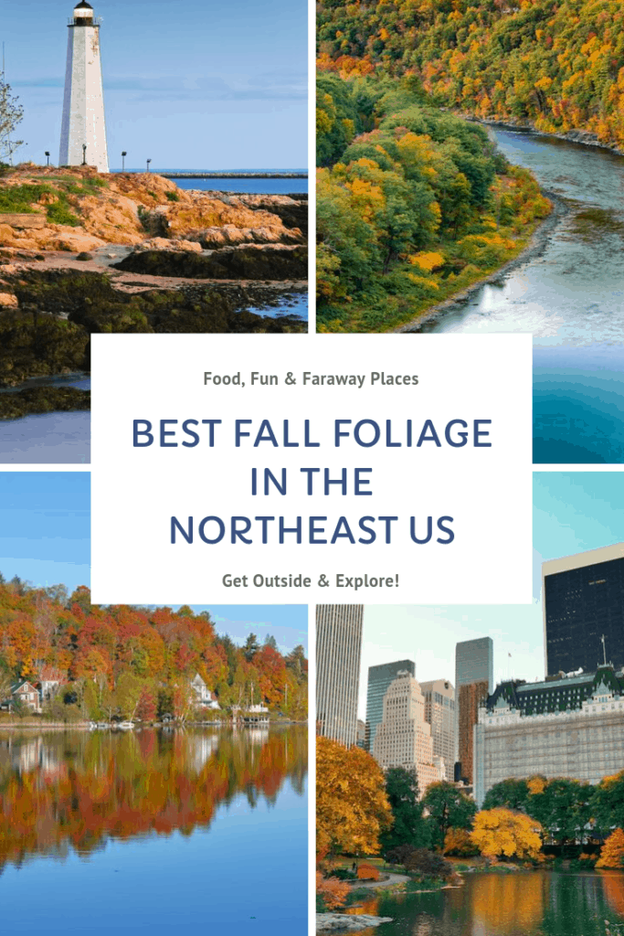 Looking for the best places to see fall foliage in the Northeastern United States? This is just a handful of spots that will be bursting with colors once the autumn temperatures start to drop.
