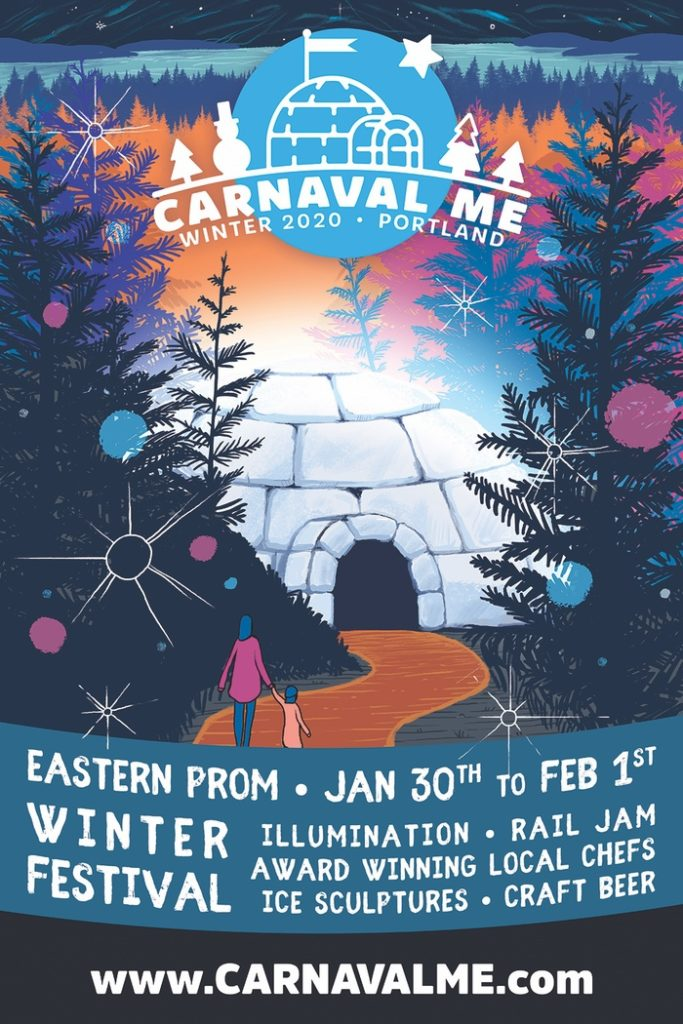 Carnaval Maine 2020 Poster