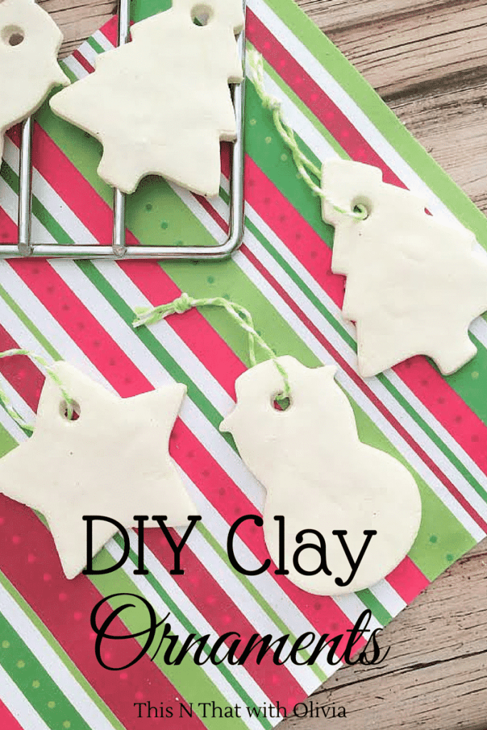 Clay Christmas Ornaments