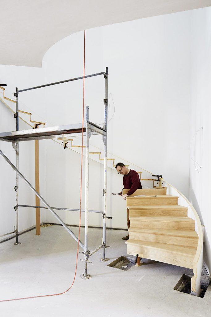 Baukultur Handwerk Treppenbau Pergande