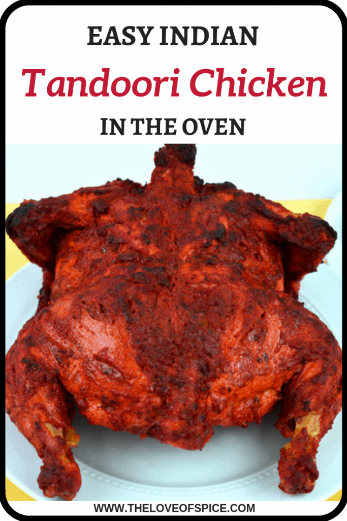 tandoori chicken roasted in oven