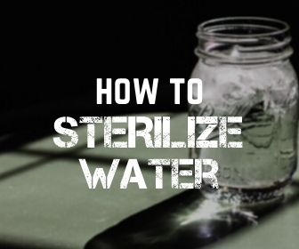 sterilize water